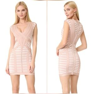 Herve Leger Katina Alabstrco Dress Small S